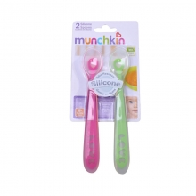 麦肯齐 Munchkin 婴儿硅胶勺