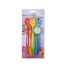麦肯齐 Munchkin 儿童长柄彩色软头勺
