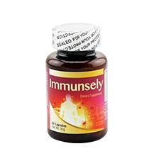 Immunsely高純度靈芝多醣 提高免疫力 降低膽固醇 60粒
