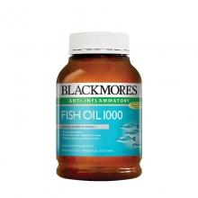 【澳洲直邮】【包税包邮】澳佳宝 Blackmores 鱼油软胶囊 无腥味  保护心血管 400粒